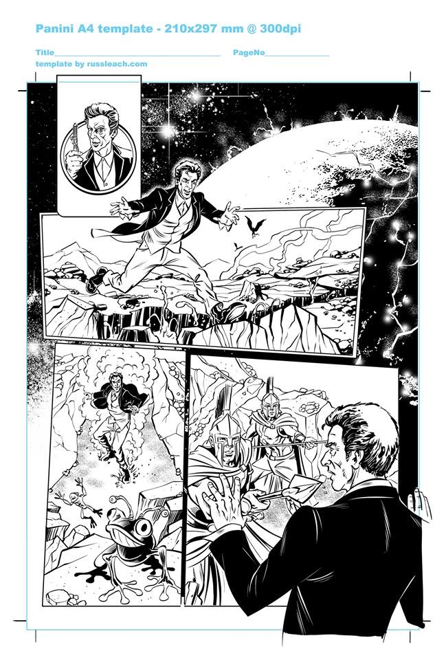 Doctor Who Adventures - Unpublished Twelfth Doctor Strip 1