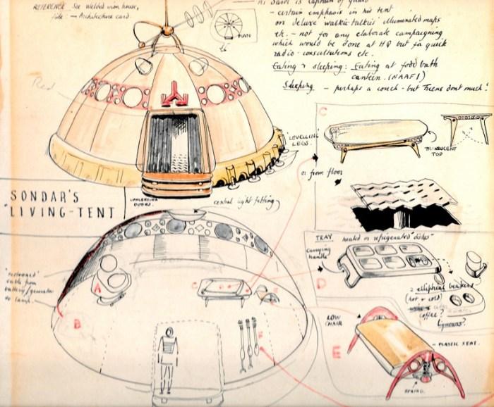 Dan Dare - Reign of the Robots Designs