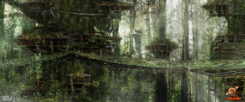 Outside the safety of Dome City, AXA discovers the beauty and danger of the post-apocalyptic Earth, which has been transformed by the Great Contamination into a fierce wilderness. She also discovers the Middlemen, an unknown group of human survivors living in tree top villages in near perfect seclusion.