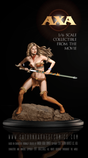 AXA: Battle for the Serpent Gate - Collectible Figure