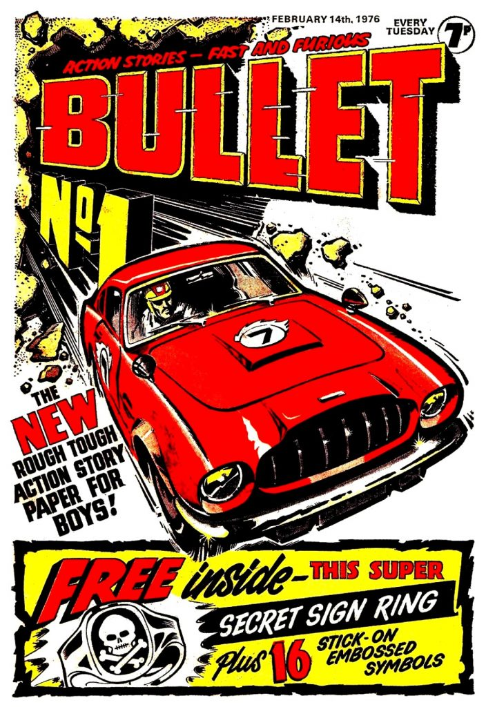 Bullet Issue One - Cover