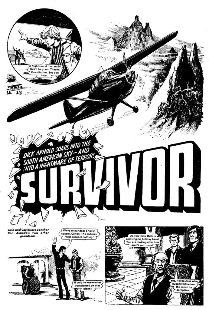Bullet Issue One - Survivor