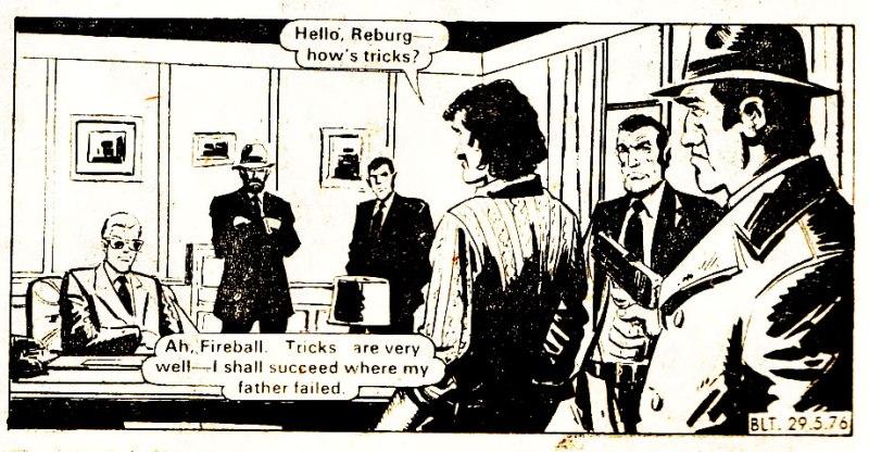 Reburg, Fireball's enemy - from Bullet