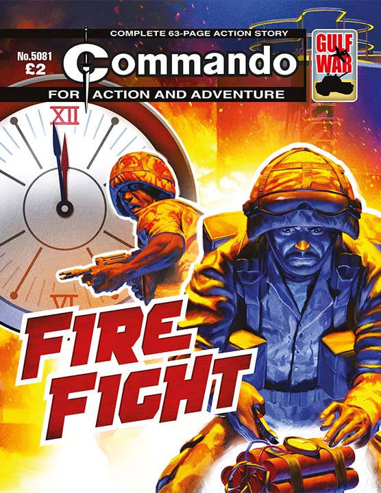 Commando 5081: Action and Adventure - Fire Fight