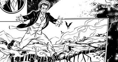 Doctor Who Adventures - Unpublished Twelfth Doctor Strip 1 SNIP