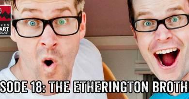 Lakes International Comic Art Festival Podcast Episode 18 - It's The Etherington Brothers!