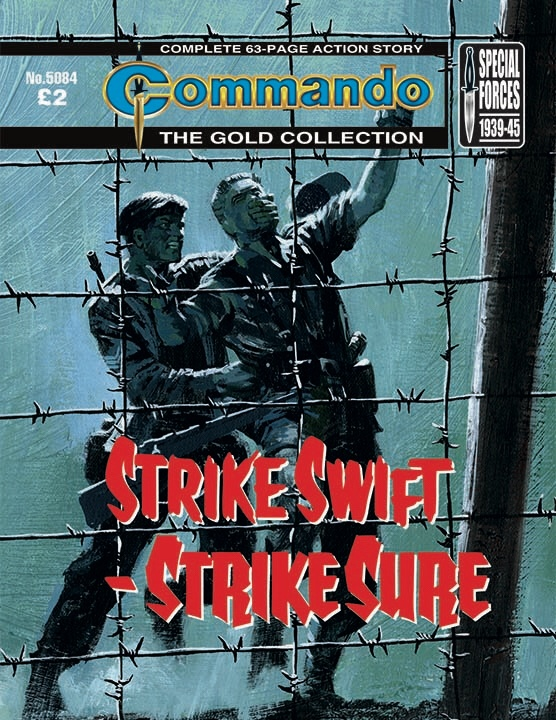 Commando 5084 Gold Collection: Strike Swift Surge Sure