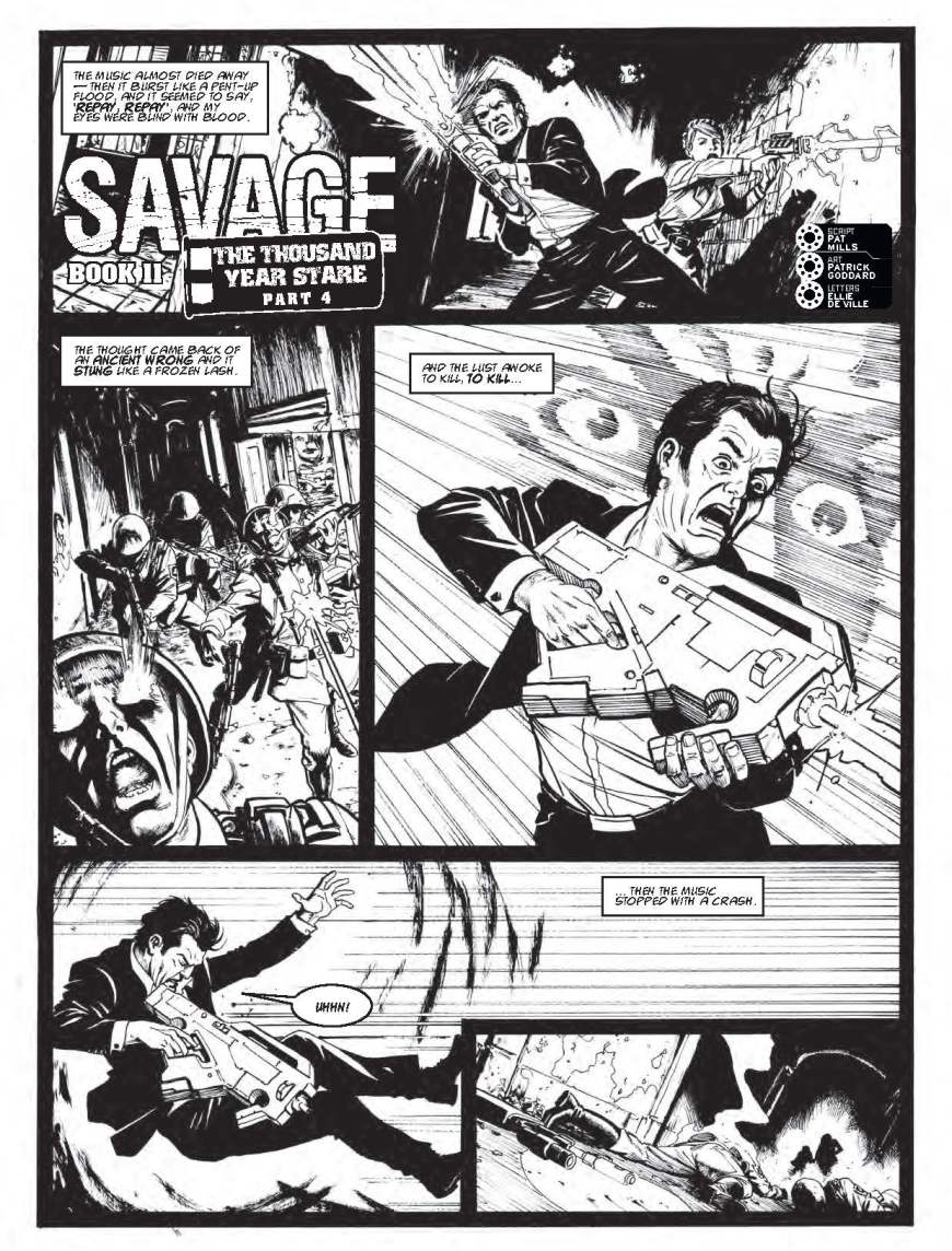 2000AD Prog 2064 - Savage