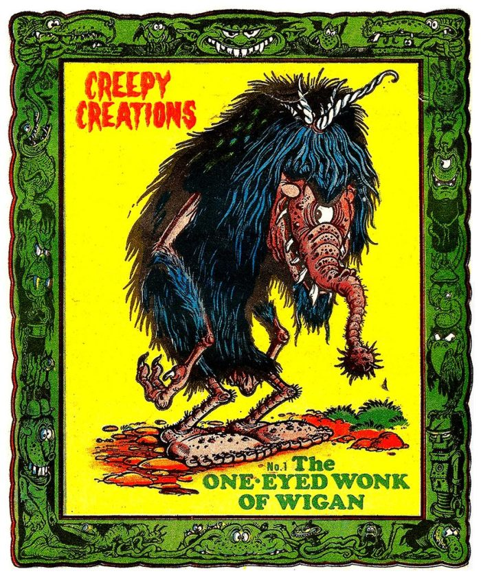 "One of Ken Reid's marvellous ""Creepy Creations"""
