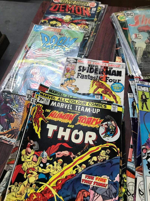 Assorted Bronze Age comics - Vectis Sale 28th February 2018