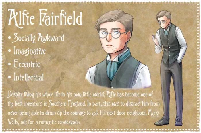 Milford Green - Graphic Novel - Alfie