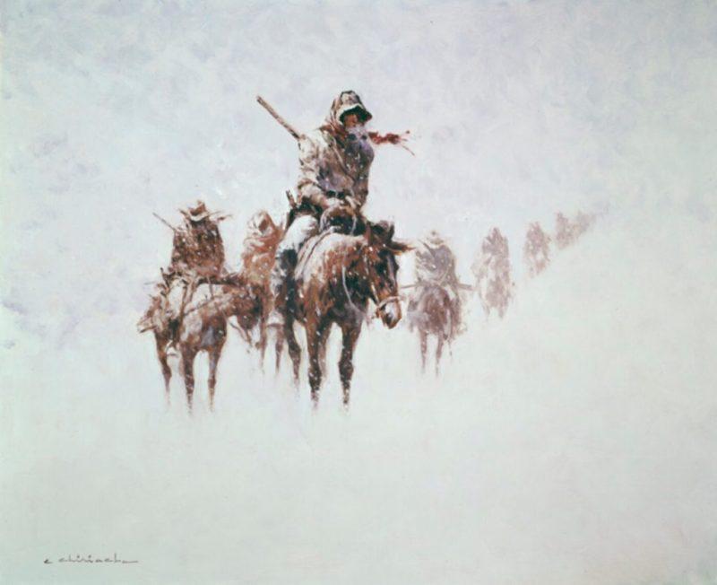 Western art by Ernest Chiriacka