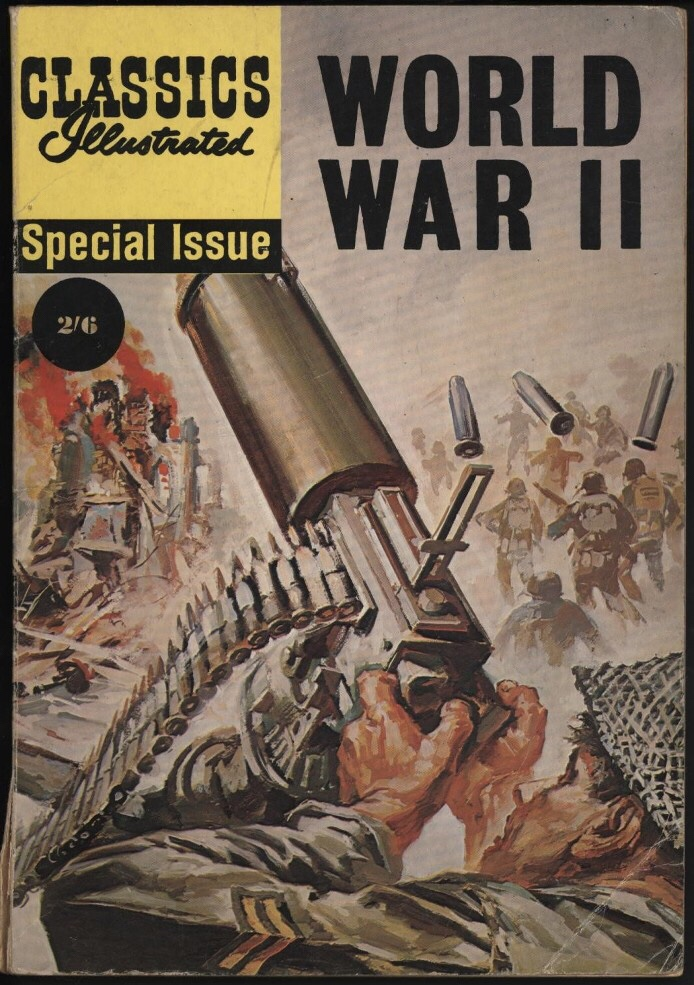 Classics Illustrated World War Two Special 1962