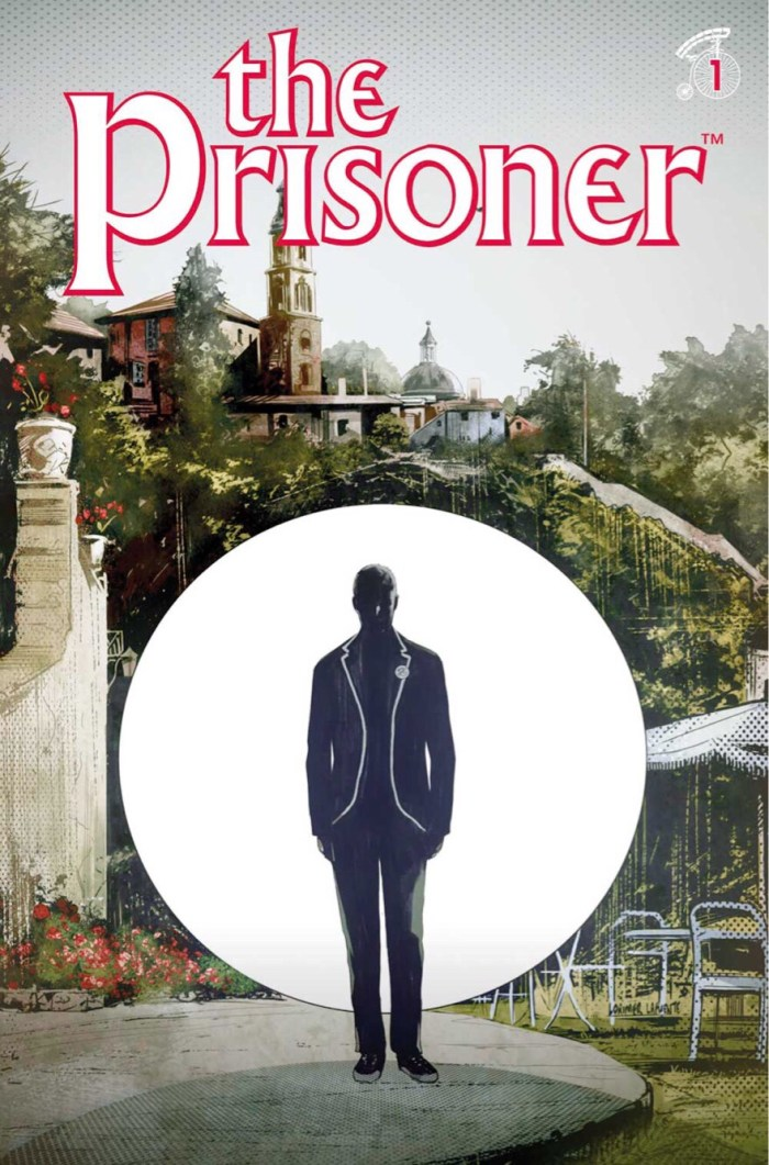 The Prisoner #1 Cover D: Colin Lorimer.The Prisoner ™ and©ITC Entertainment Group Limited. 1967, 2001 and2018. Licensed byITV Ventures Limited. All rights reserved.