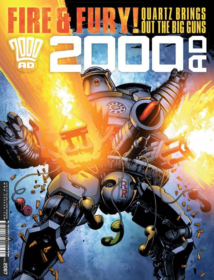 2000AD 2067 - Cover