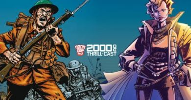 2000AD Thrill-Cast - 2000 AD Thrill-Cast: What's in store for 2018!