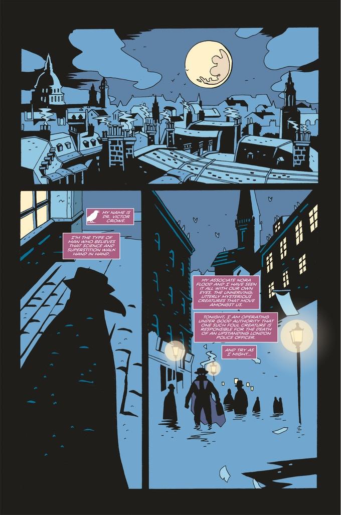 Merrick: The Sensational Elephantman & Doctor Crowe #1 - Preview 1