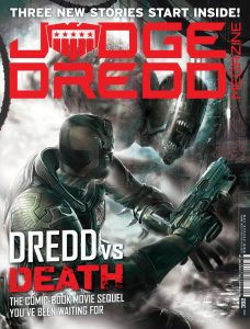 Judge Dredd Megazine Issue 392 - Cover