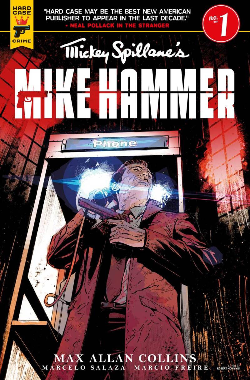 Mickey Spillane's Mike Hammer #1 Cover C: Mack Chater