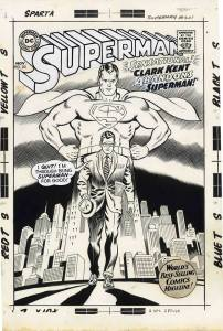 Cover art for Superman #201 by Curt Swan & George Klein, published in 1967