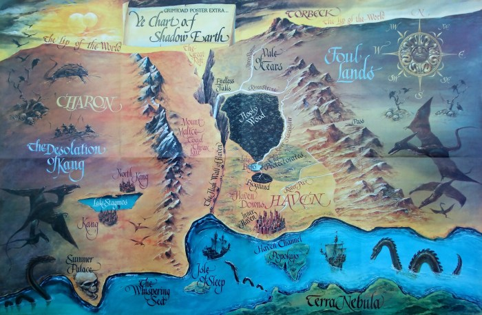 The Chronicles of Genghis Grimtoad Shadow Earth Map