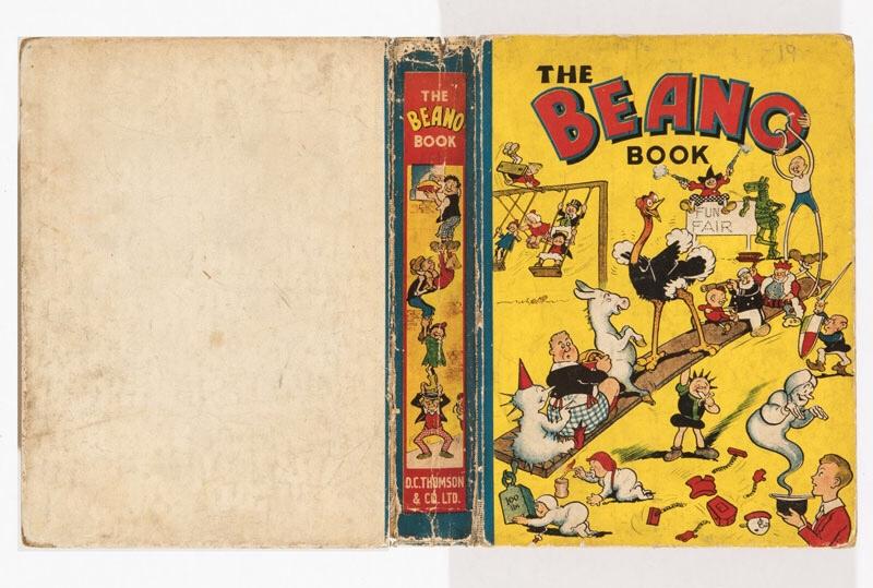 Beano Book 1 (1940) Pansy Potter balances the Beano Bunch!
