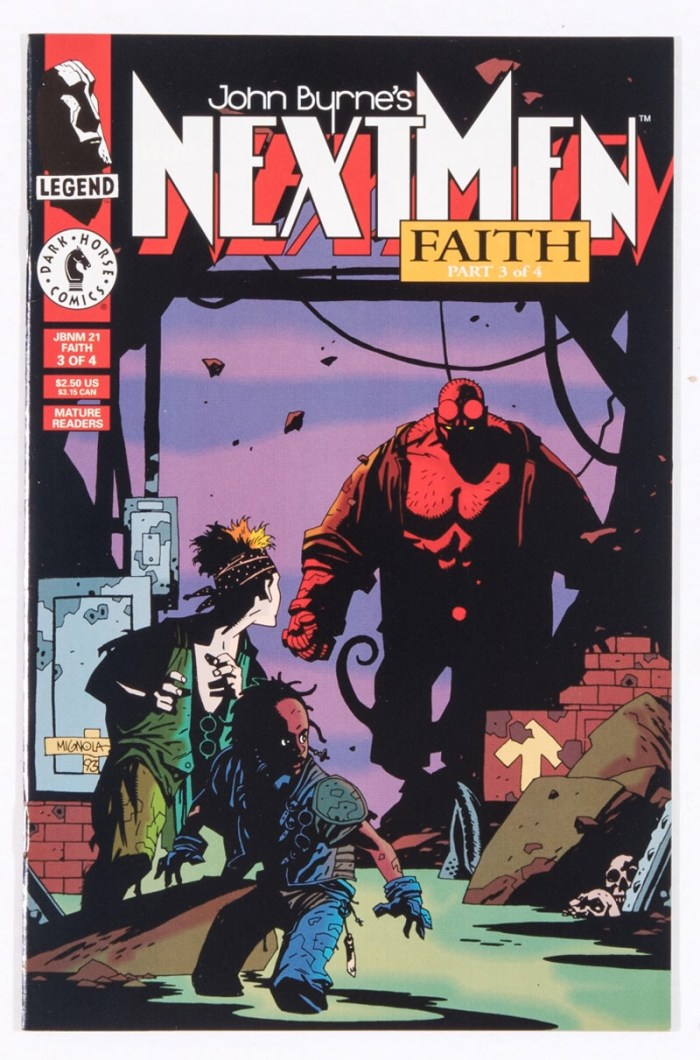 Next Men 21 (1993) -  featuring the first appearance of Hellboy