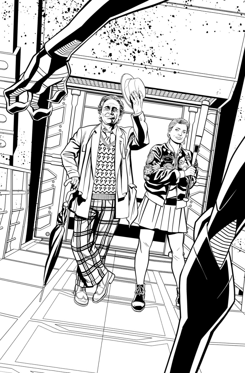 Doctor Who - the Seventh Doctor and Ace by Christopher Jones
