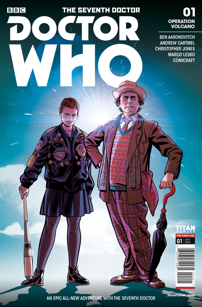 Doctor Who: The Seventh Doctor - Operation Volcano #1 - Cover by Christopher Jones