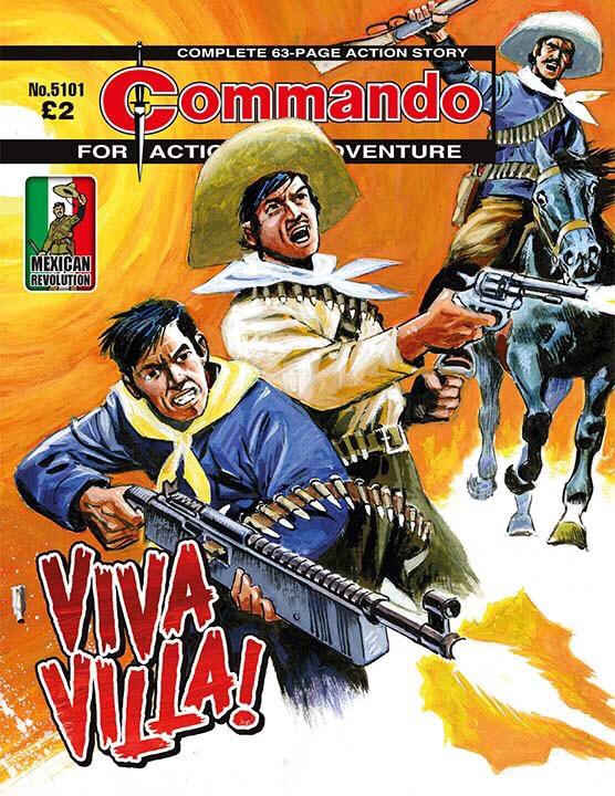Commando 5101: Action and Adventure - Viva Villa!