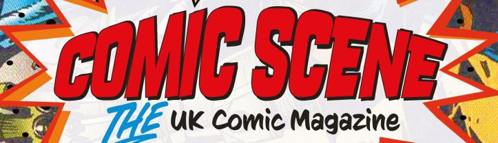 First impressions of the first issue of new comics magazine, ComicScene UK