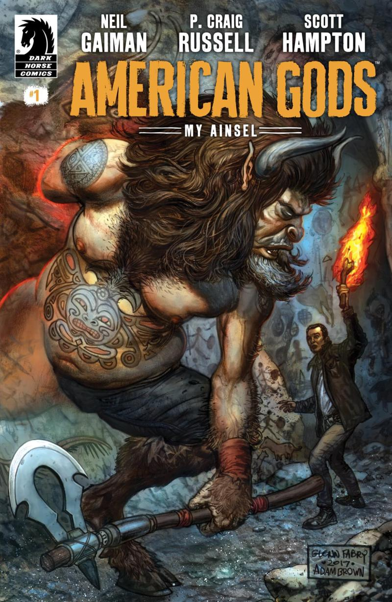 American Gods: My Ainsel #1 - Main Cover