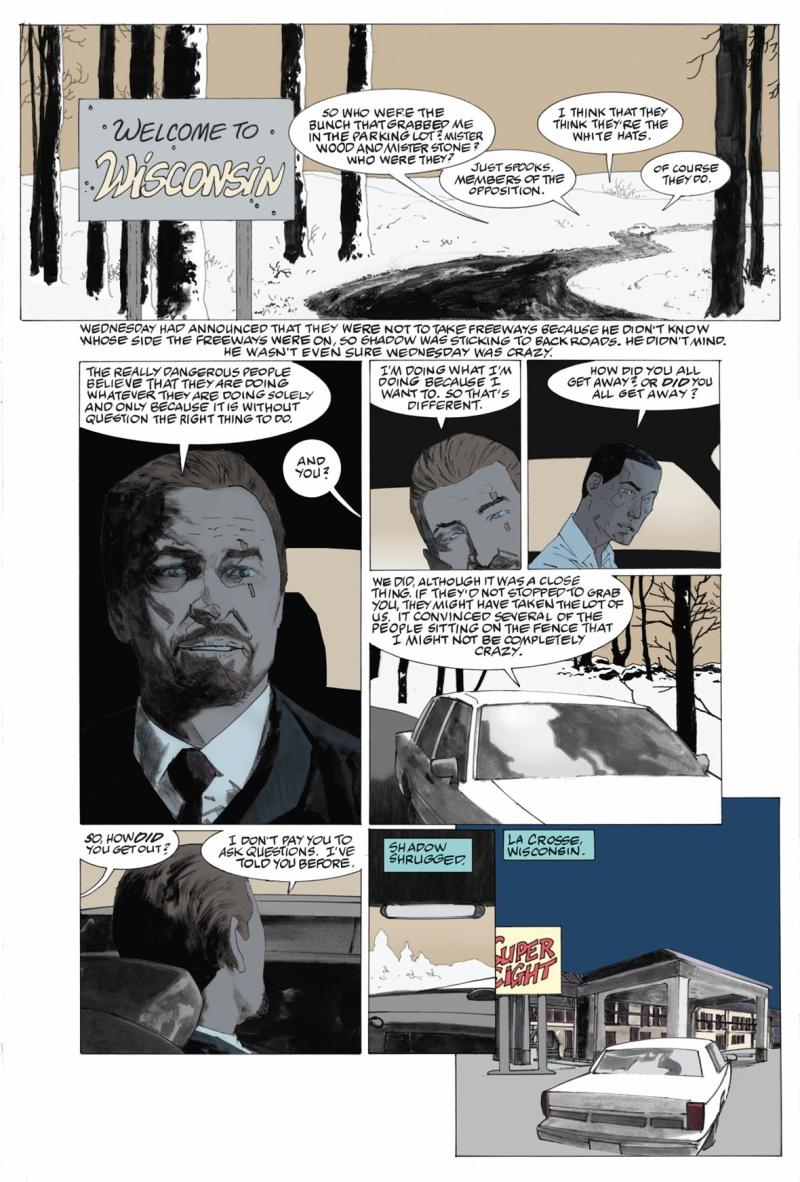 American Gods: My Ainsel #1 Preview 1