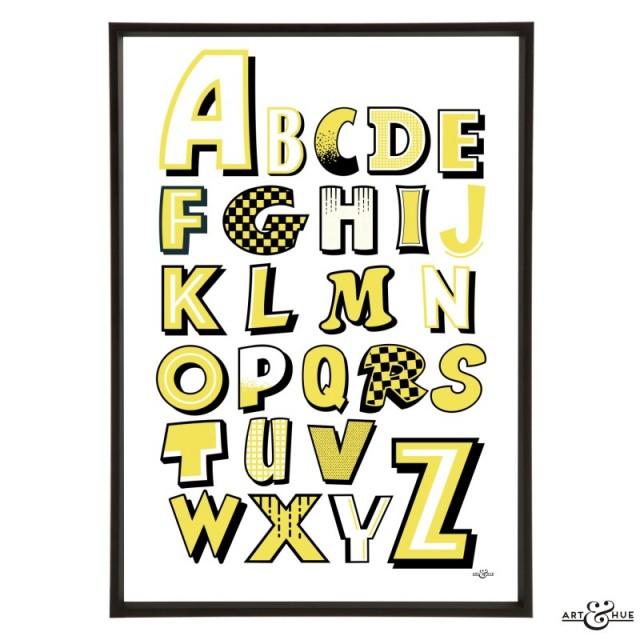 Art & Hue Beano -  Letters