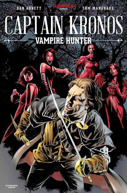 Captain Kronos - Vampire Hunter - TPB Cover