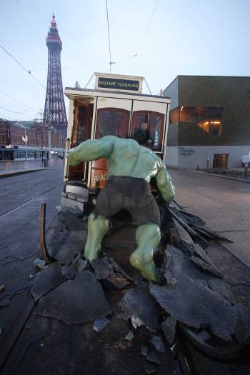 The Hulk in Blackpool - Madame Tussauds