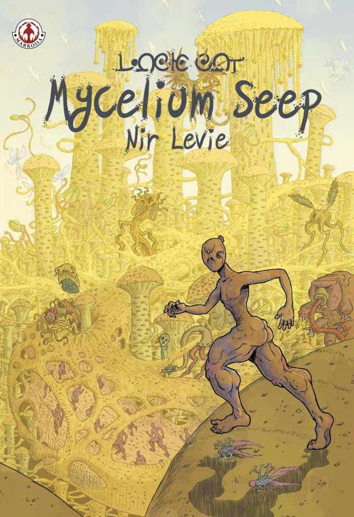 Mycelium Seep by Nir Levie