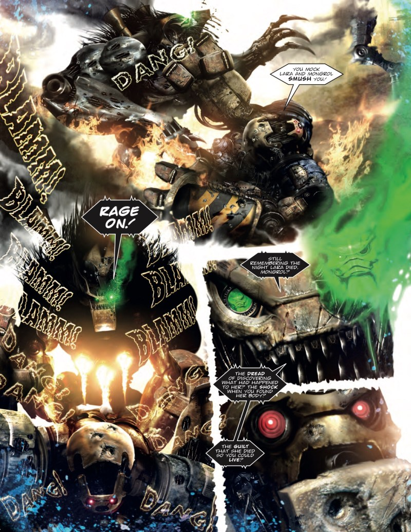 2000AD Prog 2070 -  A.B.C. Warriors