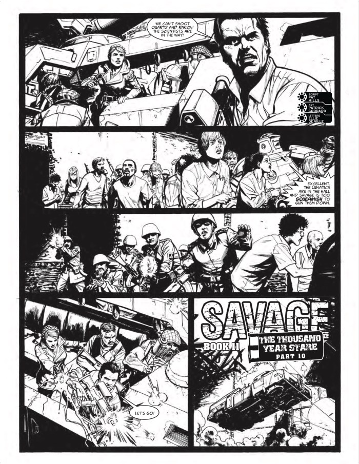 2000AD Prog 2070 - Savage » The Thousand Year Stare (Part 10)