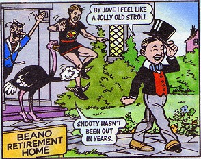 """Big Eggo in """"Lord Snooty's Day Out"""""""