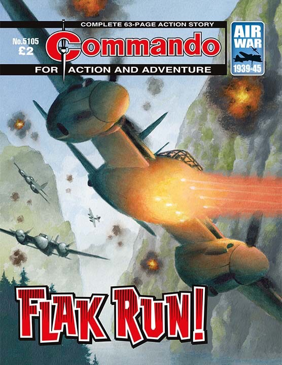 Commando 5105: Action and Adventure: Flak Run!
