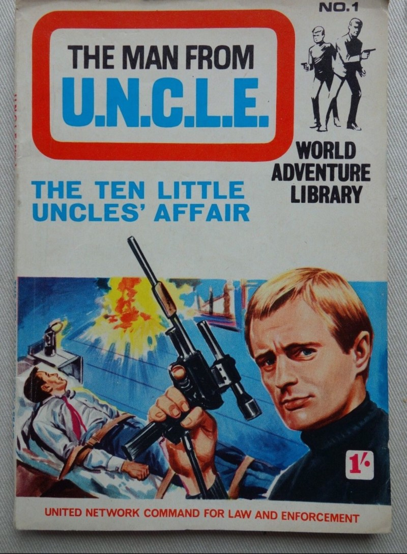 World Adventure Library - The Man from UNCLE Issue 1