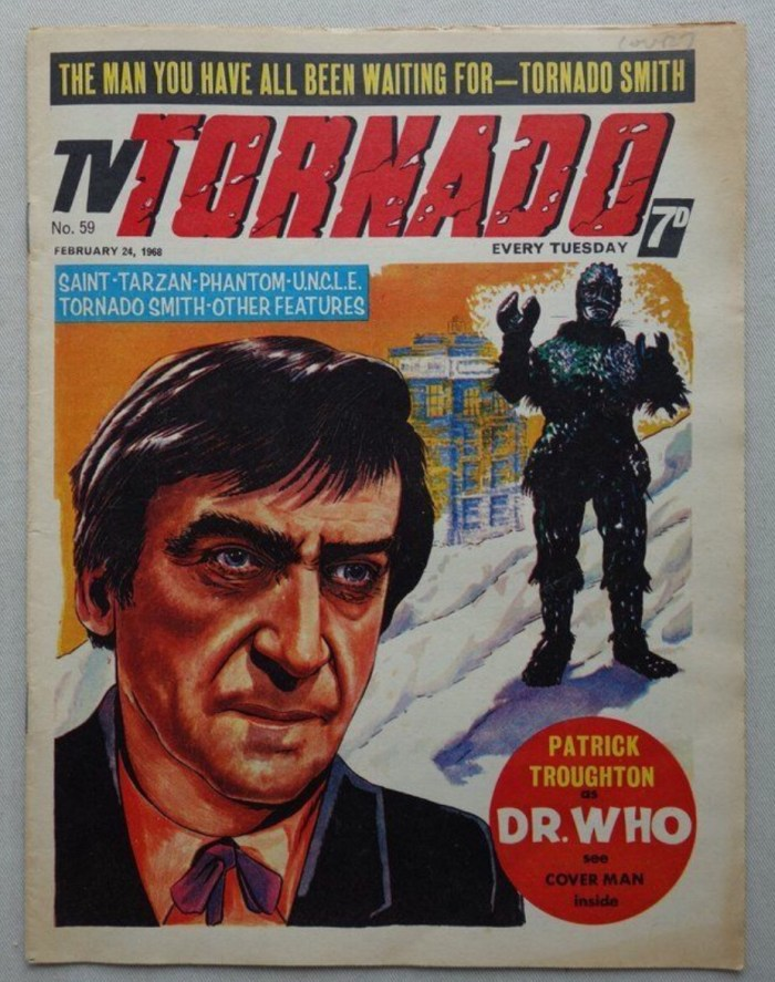 TV Tornado Issue 59 - featuring Patrick Troughton as Doctor Who, published in 1968