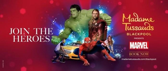 Marvel Superheroes: Madame Tussauds Blackpool