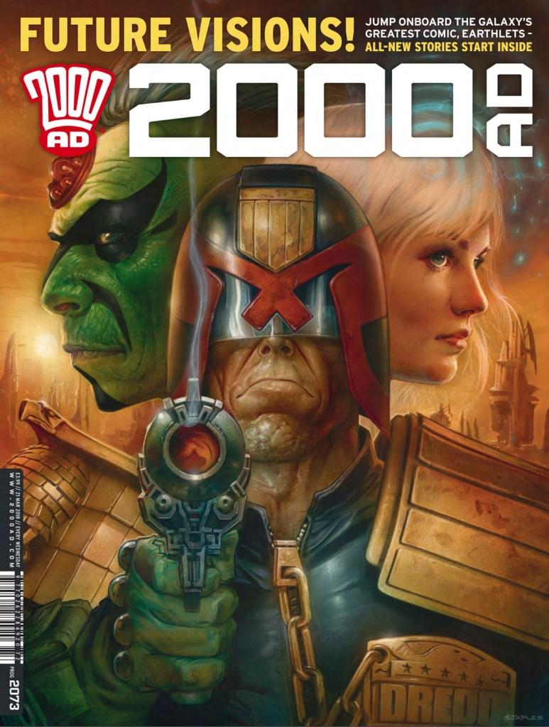 2000AD Prog 2073 - Cover