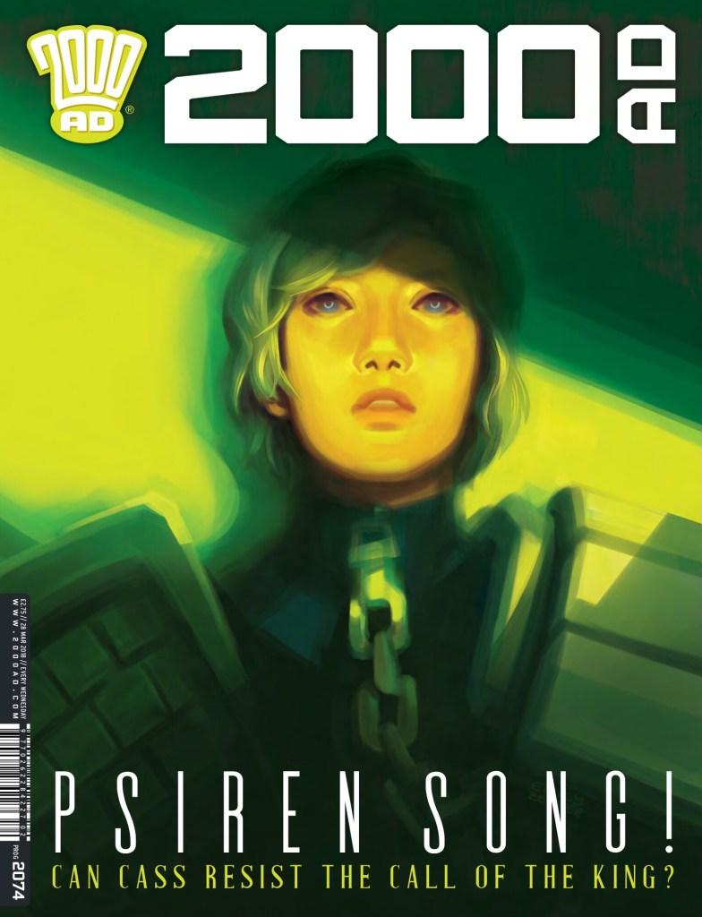 2000AD Prog 2074 - Cover