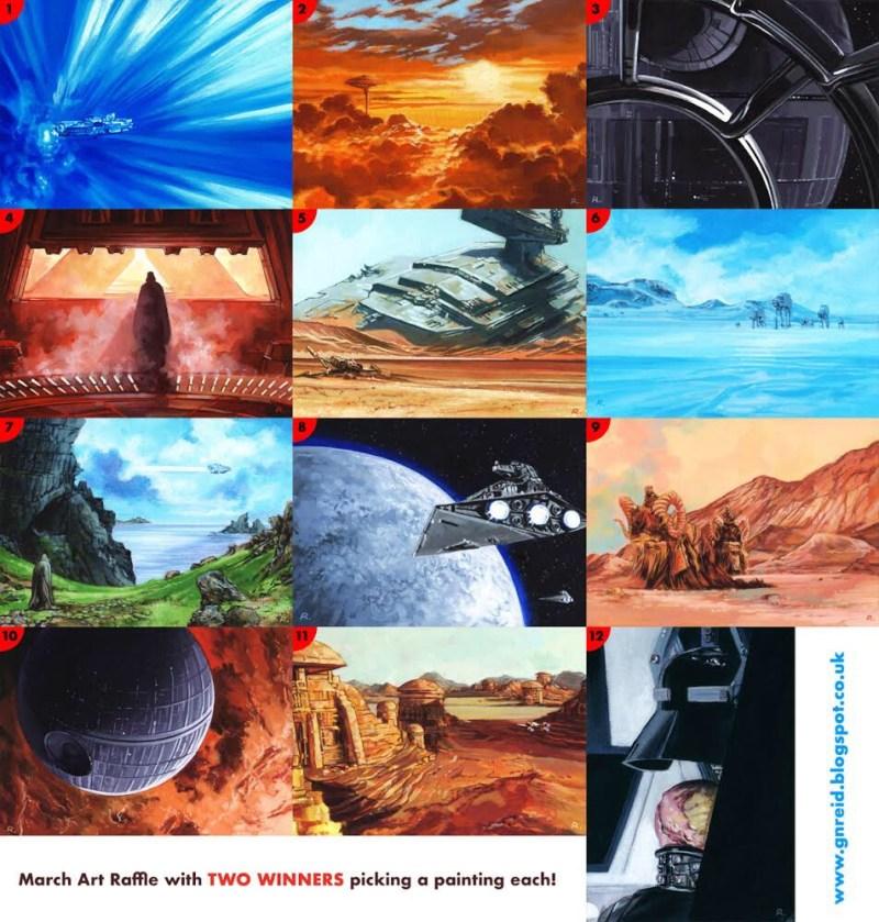 Star Wars art by Graeme Neil Reid