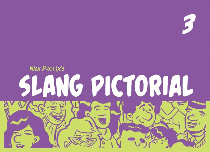 Slang Pictorial #3 - Cover