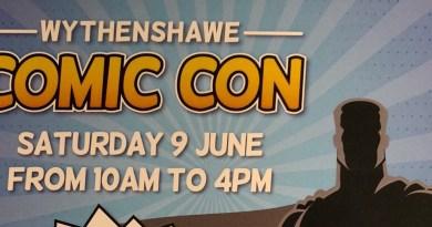 Wythenshawe Comic Con 2018 Flyer 1 SNIP