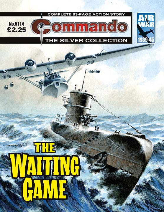 Commando 5114: Silver Collection - The Waiting Game